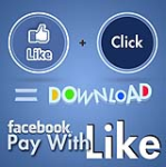 Facebook - Pay with a LIKE - for Download - Viral Like Collection Module